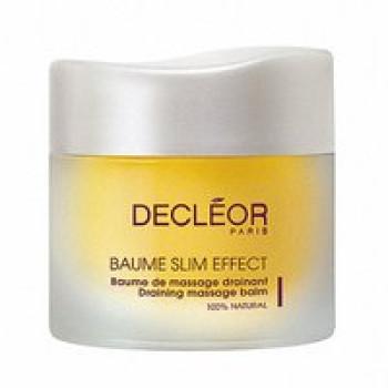 Бальзам дренирующий для коррекции фигуры - Baume Slim Effect - Baume de massage drainant Decleor, 50 мл