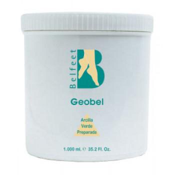 Geobel (маска для ног из зеленой глины) 1кг.