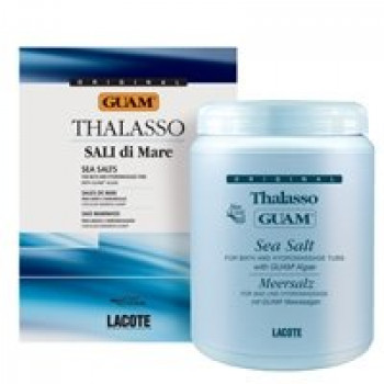 Концентрированная морская соль Талассо GUAM, 1 кг.