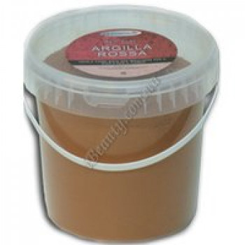"""Сухая глина для обёртывания """"Красная"""" / Dry clay La Cremerie, 1000 гр"""