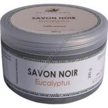 Гоммаж бельди с эвкалиптом («черное мыло») Nectarome, 200г