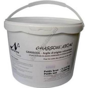 Гассул (рассул), обогащенный 7 травами (марокканская вулканическая глина) Nectarome, 5 кг