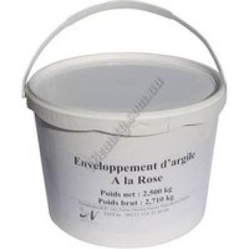 Обертывание белая глина + роза для тела Nectarome, 0,5 кг