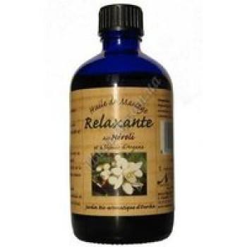 Масло массажное релаксирующее аргания + нероли Nectarome, 100 мл