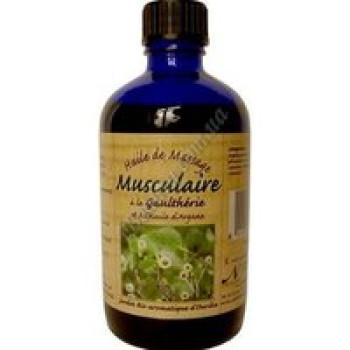 Масло массажное для мышц и суставов аргания + гаултерия Nectarome, 100 мл
