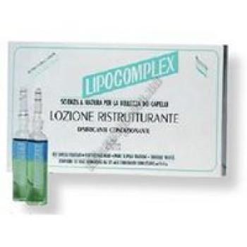 Липокомплекс бифазный восстанавливающий лосьон - Lipocomplex lozione ristrutturante BES, 12x10 мл
