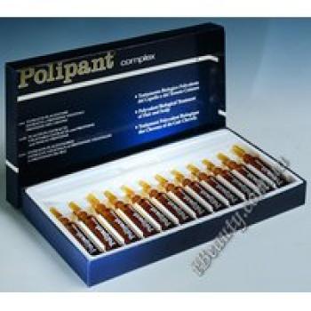 Комплекс с плацентарными и растительными экстрактами, растительными протеинами против выпадения волос - POLIPANT COMPLEX, DIKSON, 12х10 мл мл