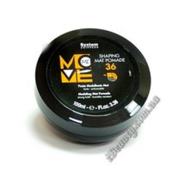 Матовая гель - помада сильной фиксации - 36 MOVE-ME Shaping Mat Pomade, DIKSON, 100 мл