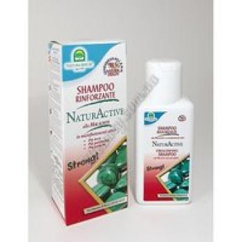 Укрепляющий шампунь Natura Active с активными микрочастицами Малахита Natura House, 250 мл