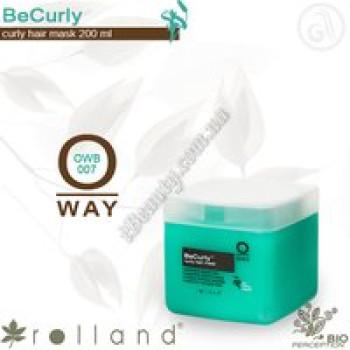 BeCurly Маска для вьющихся волос Rolland, 200мл