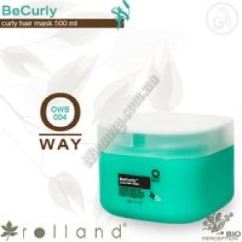 BeCurly Маска для вьющихся волос Rolland, 500 мл