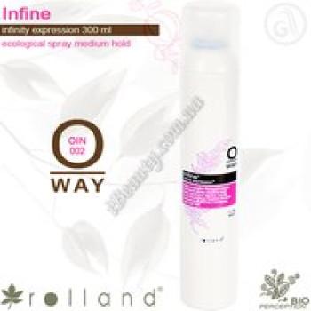 Infine Лак для всех типов волос средней фиксации Rolland, 300мл