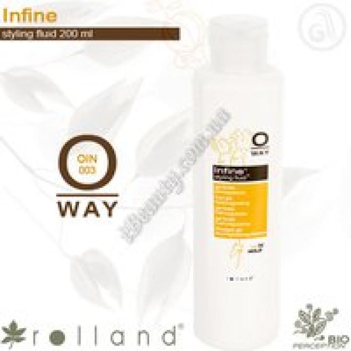 Infine Флюид для моделирования волос гибкой средней фиксации Rolland, 200мл