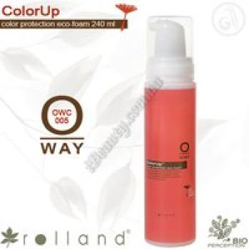 Защитная пенка для окрашеных волос Rolland, 240 мл