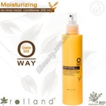 Moisturizing средство кондиционирующее для увлажнения волос Rolland, 200мл