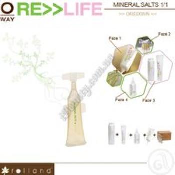 Минеральные соли для реконструкции волос Rolland, 15x3мл
