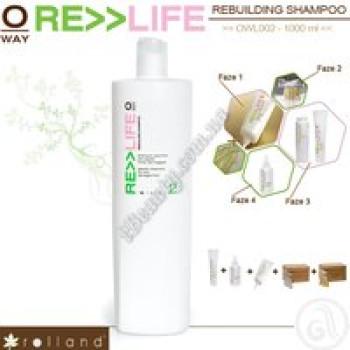 Шампунь для реконструкции волос Rolland, 1000мл