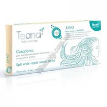 JUNO Сыворотка для восстановления кончиков секущихся волос Teana, 10амп*5мл