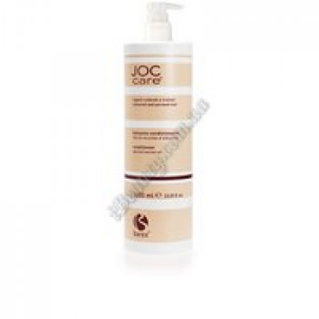 Бальзам-кондиционер для окрашенных и волос после химической завивки с маслом абрикосовых косточек Barex, 1000 ml