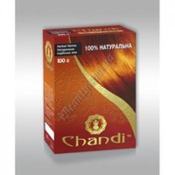 Чистая хна с добавлениями трав  Чанди Chandi, 100г