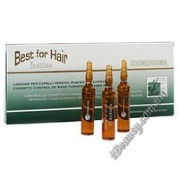 Лосьон для волос с экстрактом растительной плаценты (Joniline Best For Hair Lotion with Veg.placenta extracts) , Cosmofarm, 12X8 ml