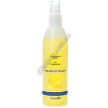 Спрей для усилености интенсивности краски (для легкого оттенка 8-9-10) желтый - PRE COLOR YELLOW млFarmaVita, 250ml