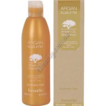 ШАМПУНЬ С АРГАНОВЫМ МАСЛОМ - Argan Sublime Shampoo FarmaVita, 250 ml