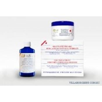 комплекс для восстановления сухих и повреждённых волос - Treatment for thin and damaged hair VILLA BORGHINI