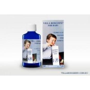 Детский шампунь для волос и тела - Baby bathing foam VILLA BORGHINI, 200ml