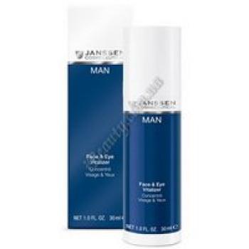 Увлажнитель для лица и орбитальной области - Face&Eye Vitalizer Janssen Cosmetics, 30 ml
