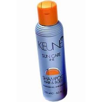 Шампунь для волос и тела «Кэе лайн при загаре»