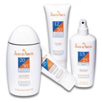 Солнцезащитный крем / LSF 14 / SPF 24 / Sun Cream /JEAN D`ARCEL