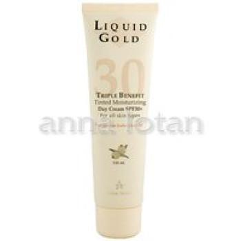 """""""Золотой"""" солнцезащитный крем с SPF 30 «Liquid Gold» Anna Lotan, 100 ml"""