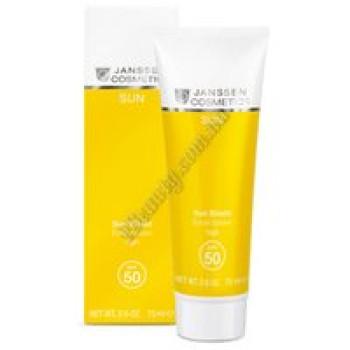 Солнцезащитн.ємульсия д\лица и тела - Sun Shield SPF-50 Janssen Cosmetics, 75 ml