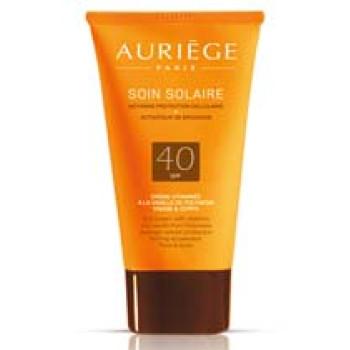 Крем витаминный солнцезащитный для лица и тела spf 40 Auriege.