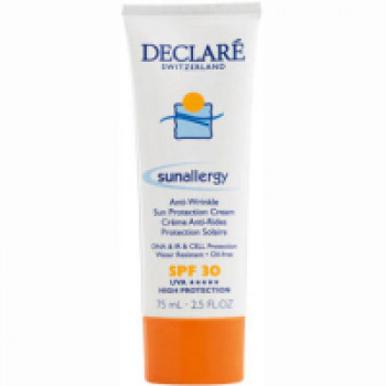 Sun Allergy Anti-Wrinkle Sun Protection Cream SPF 30 Солнцезащитный крем от солнечной аллергии и старения кожи с SPF 30