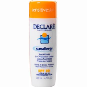 Sun Allergy Anti-Wrinkle Sun Protection Lotion SPF 30 Солнцезащитный лосьон от солнечной аллергии и старения кожи с SPF 30