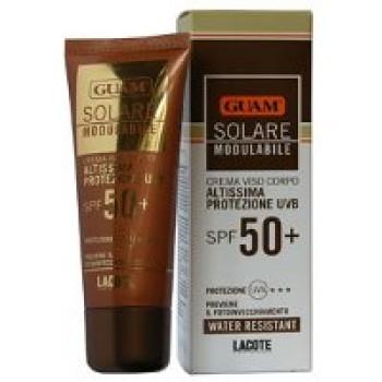 Солнцезащитный крем для лица SPF-50 GUAM, 75мл.