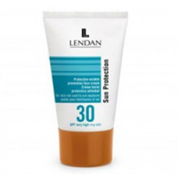 Защитный крем против морщин для лица SPF 30 LENDAN (Испания) 50 мл